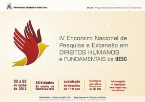 IV ENPEX 2013 - PESQUISA E EXTENSÃO EM DIREITOS...