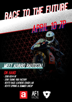 Race To The Future! presented by Aprilia AF1 Racing x...