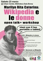 Marilyn, Rita, Caterina: Wikipedia e le Donne