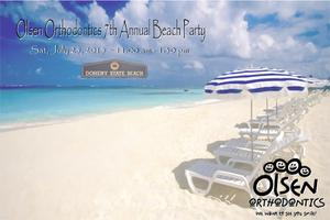 Olsen Orthodontics 7th Annual Beach Party (2015)