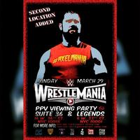 WRESTLEMANIA PARTY @ SUITE 36 & LEGENDS BAR in NYC