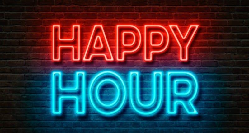 Happy Hour at Sign of the Whale