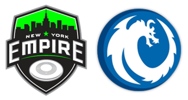 New York Empire vs. Rochester Dragons