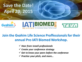 Gvahim Life Science Professionals Pre IATI Workshop