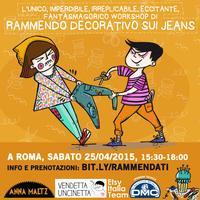 Workshop di Rammendo decorativo su jeans c/ Anna Maltz...