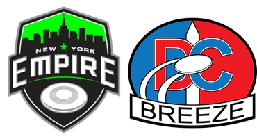 New York Empire vs. DC Breeze