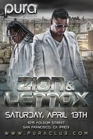 PURA CLUB PRESENTS: ZION & LENNOX