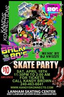 Back to the 80's Skate Party