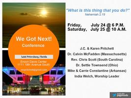 2015 WE GOT NEXT! Conference