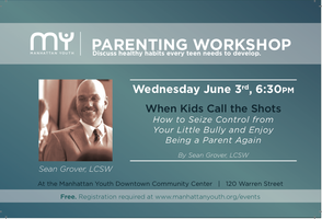 Parenting Workshop & Book Launch! -- When Kids Call...