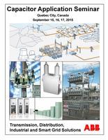 ABB Capacitor Application Seminar 2015 - Quebec City,...