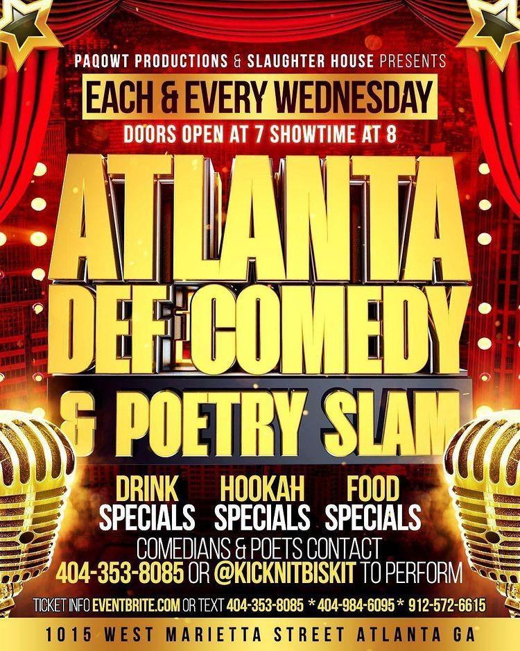 ATL DEF Comedy & Poetry Slam