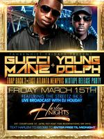 GUCCI Friday at Harlem Nights