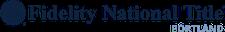 Advertiser: Fidelity National Title | Portland - Registered Provider logo