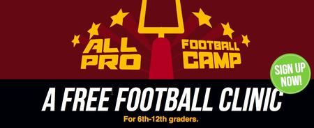 All Pro Football Camp