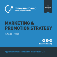 INNOVAMI CAMP - Marketing and promotion strategy