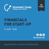 INNOVAMI CAMP - Financials for start-up