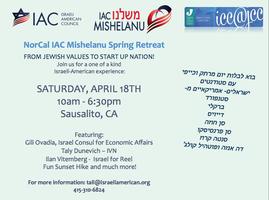 NorCal IAC Mishelanu Spring Retreat!