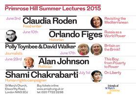 Primrose Hill Lectures 2015: ORLANDO FIGES