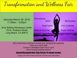 Transformation and Wellness Faire