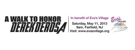 Derek DeRosa Walk to Benefit Eva's Village