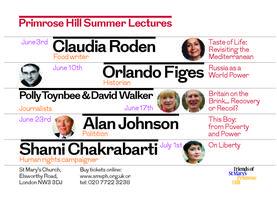 Primrose Hill lecture Series 2015: SHAMI CHAKRABARTI