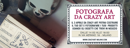 Fotografa da Crazy Art - Antiquariato e Follie - Milano