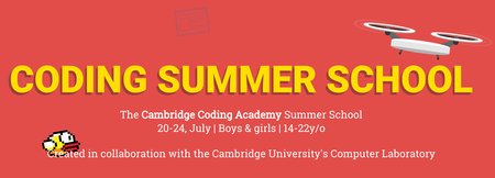 Cambridge Coding Academy Summer School