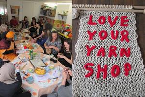 'Close Knit Community' Tea Party (Yarn Shop Day event)