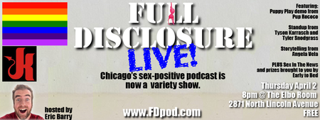 Full Disclosure Sex-Positive Podcast Recording