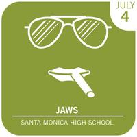 Eat See Hear Jaws Outdoor Movie