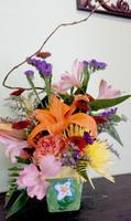 Sassy DIY Floral Design Class: April