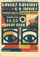 Pavlos Pavlidis & B-movies / Special Guest: Leon of...