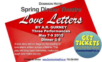Dinner Theatre at the Dominion