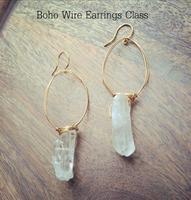 Boho Wire Earrings Class