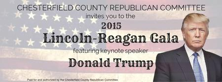 (SOLD OUT) 2015 CCRC Lincoln Reagan Gala Featuring...