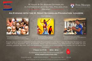 An Evening with the M. Night Shyamalan Foundation...