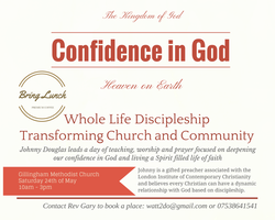 Confidence in God -  Discipleship that Transforms...