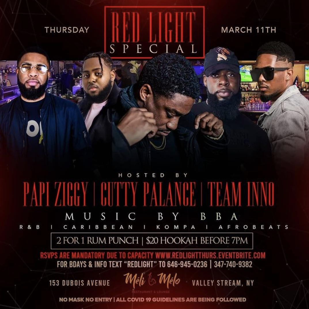 RED LIGHT SPECIAL AT MELI MELO HOSTED BY #TEAMINNO