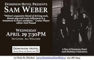 "Sam Weber and Band LIVE at the ""D"""