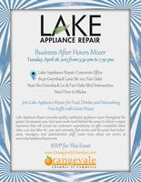 Business After Hours at Lake Appliance Repair