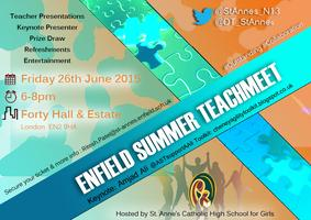 #TMEnfield: Enfield Summer TeachMeet