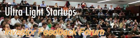 Investor Feedback Forum and Pitch Showdown (Boston)