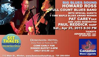 Howard Ross and The Full Count Blues Band