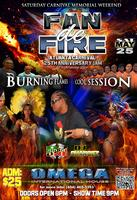 'Fan de Fire!!!' with Burning Flames & Cool Sessions at ATL CK13