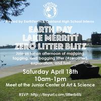 Earth Day Lake Merritt Zero Litter Blitz