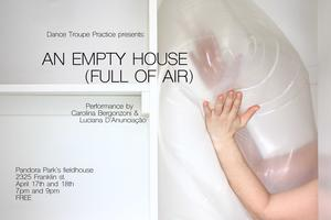 An empty house (full of air)