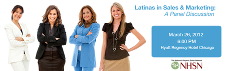 NHSN 2012 March Event: Latinas in Sales & Marketing