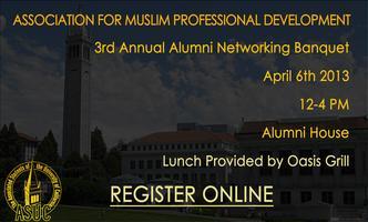 Cal AMPD's 3rd Annual Alumni Networking Banquet
