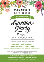 Annual Carnegie Garden Party at the Greenery